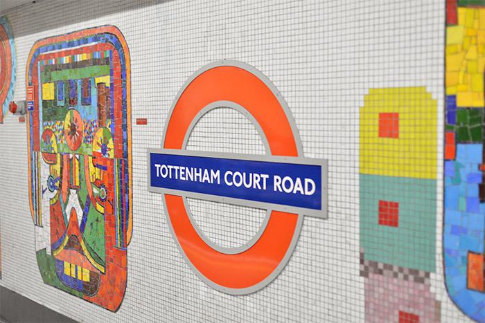 Tottenham Court Road metro