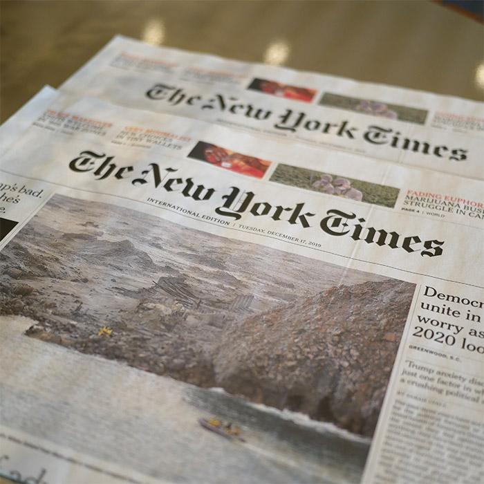 new york times journal