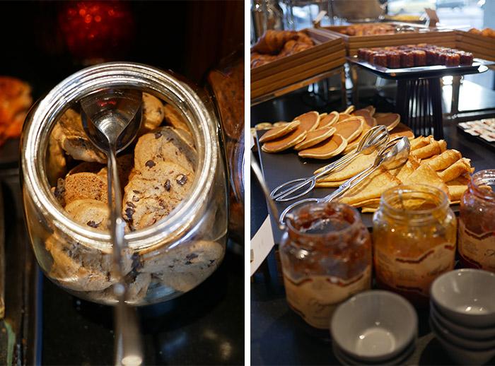 lyon intercontinental petit dejeuner pancakes