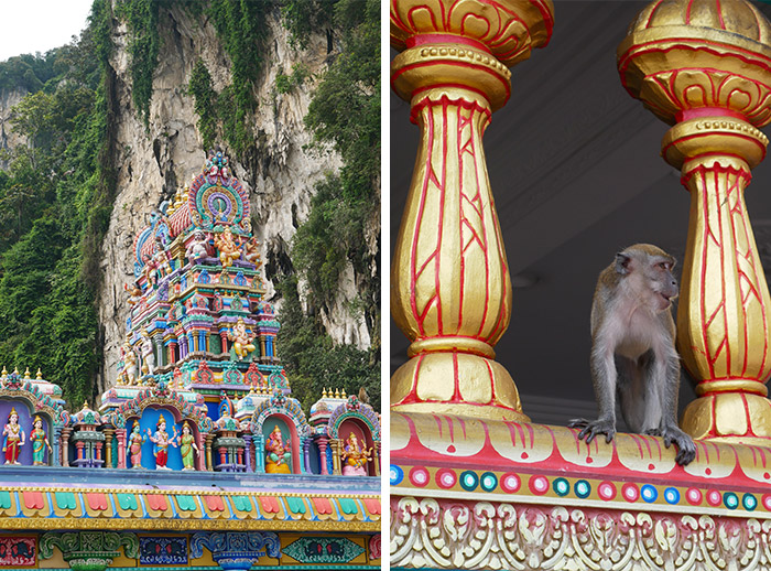 grottes de Batu Malaisie