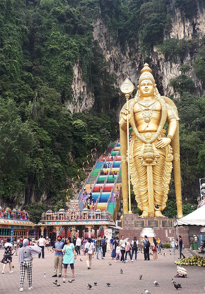 Malaisie Batu Caves hindou