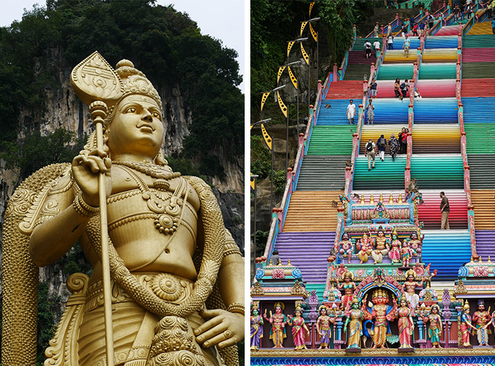 indian temple Batu Malaysia