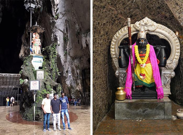 temple hindou malaisie grotte Batu