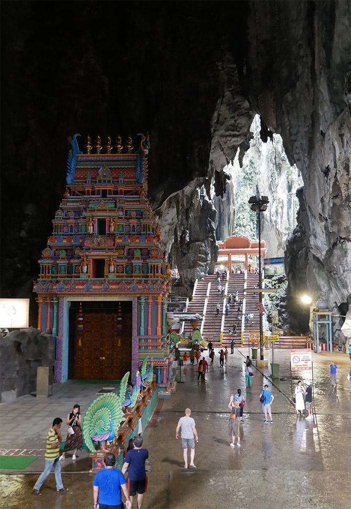 Batu Caves grotte Malaisie