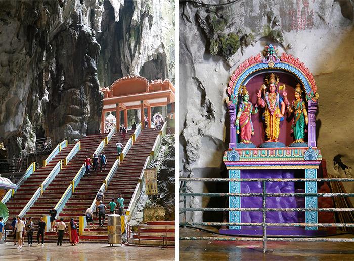 Batu Caves Malaisie grotte
