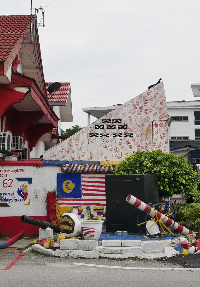 caserne pompiers klang malaisie