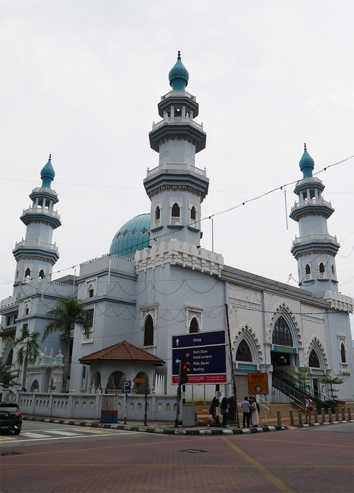 mosquée Klang Malaisie