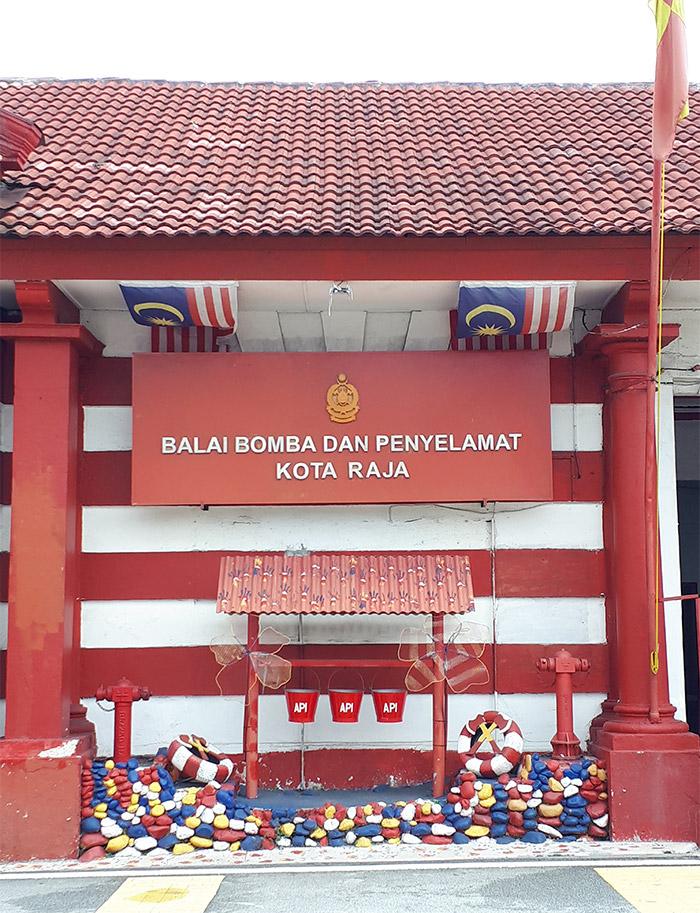 Klang fire station heritage walk malaisie