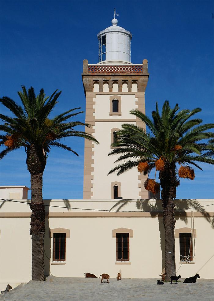 maroc phare cap spartel morocco