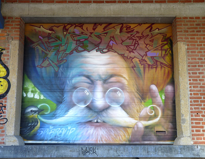 Aarhus Radar street art murals