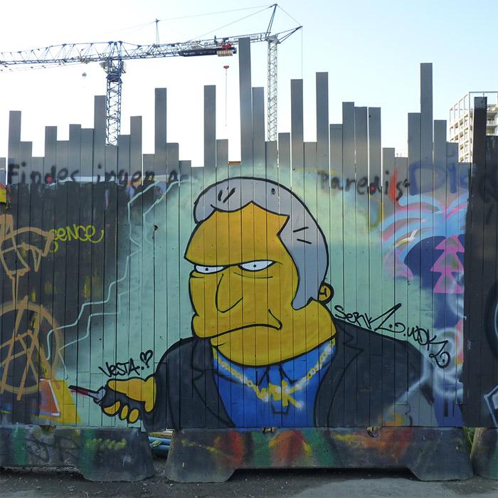 Aarhus Godsbanen street art