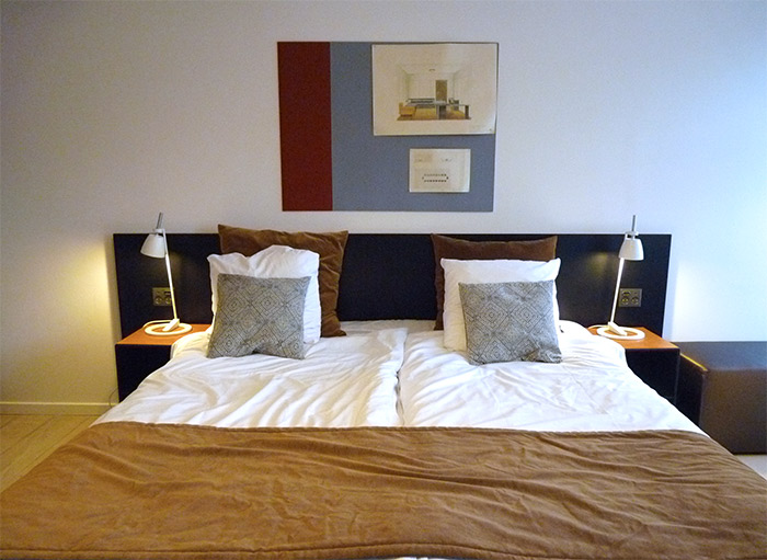 hotel oasia aarhus chambre