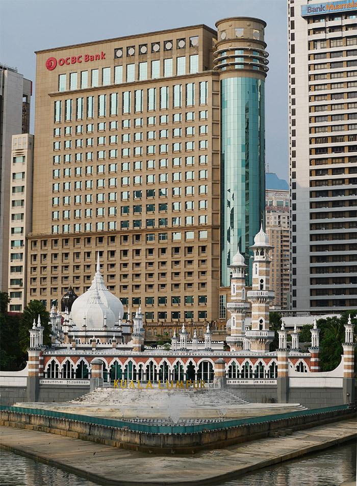 masjid jamek kuala lumpur malaisie