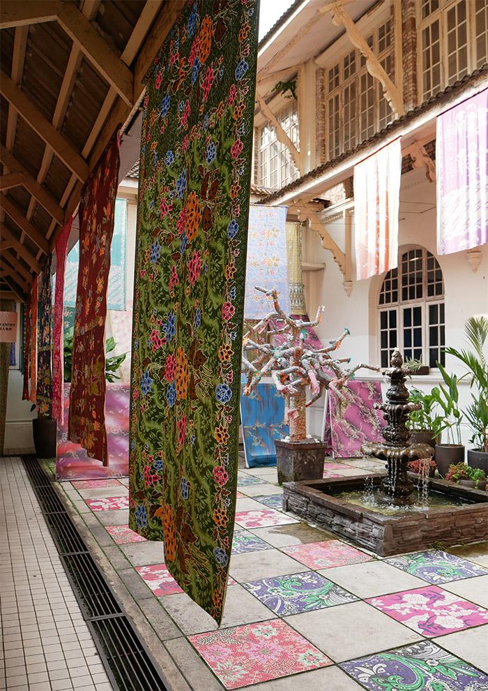 kuala lumpur batik kl city gallery