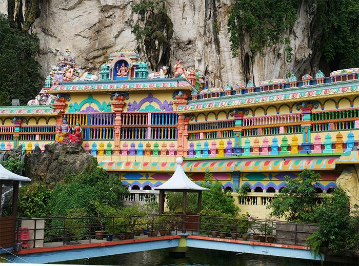 temples des Batu Caves Malaisie