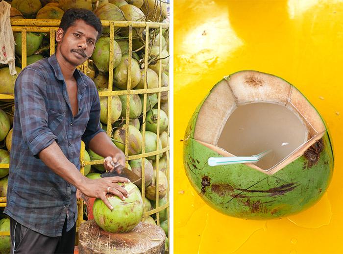 noix de coco Malaisie boisson