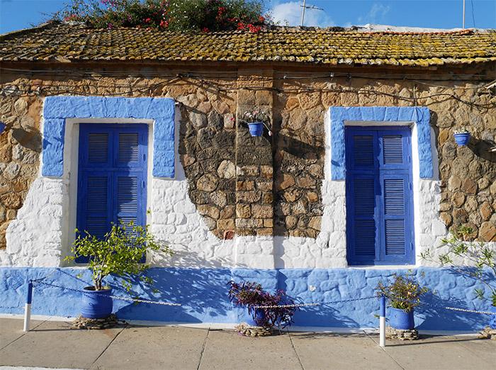 Maroc Asilah maison bleu