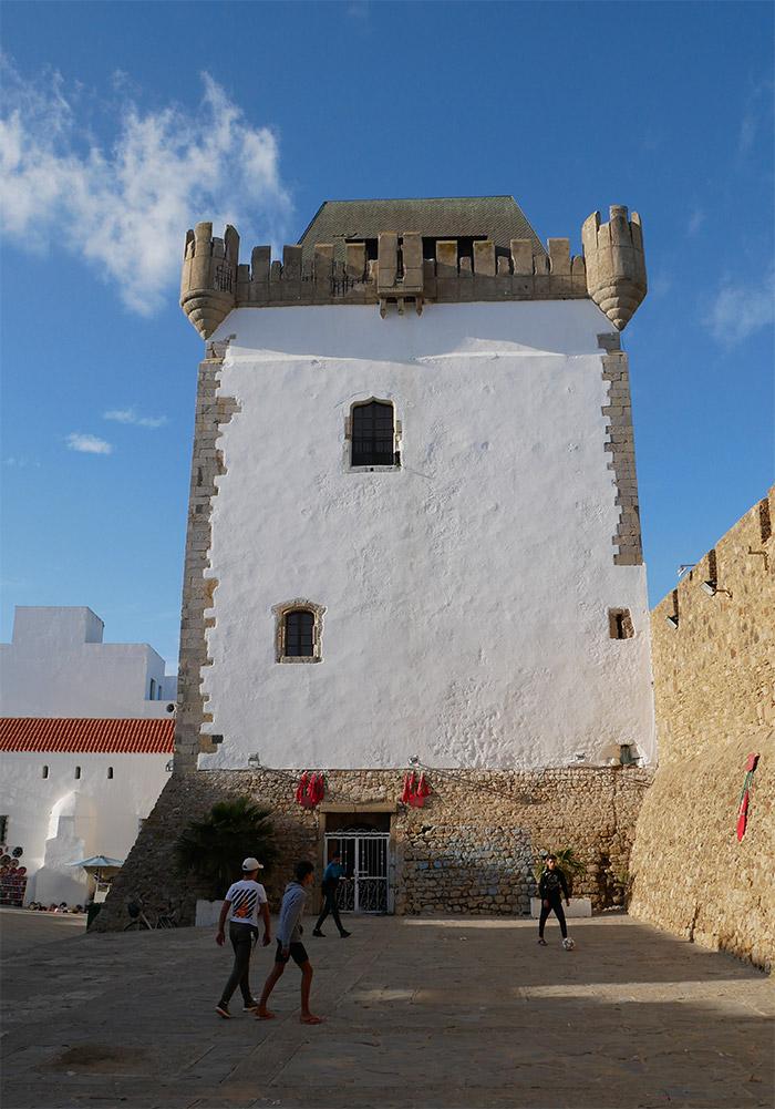 tour El-Kamra Maroc Asilah