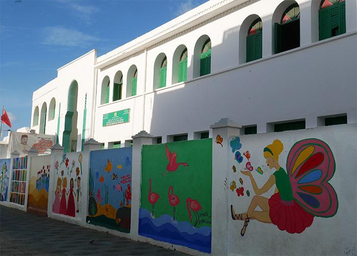 Assilah art Maroc peinture