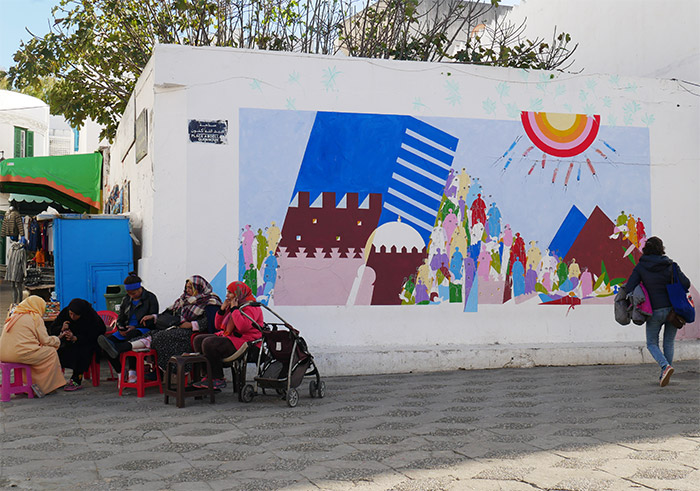 street art Asilah Maroc
