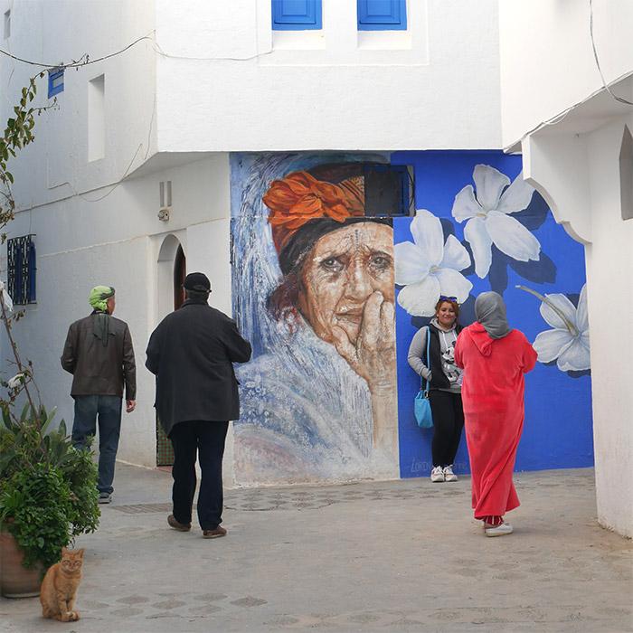Maroc street art Asilah