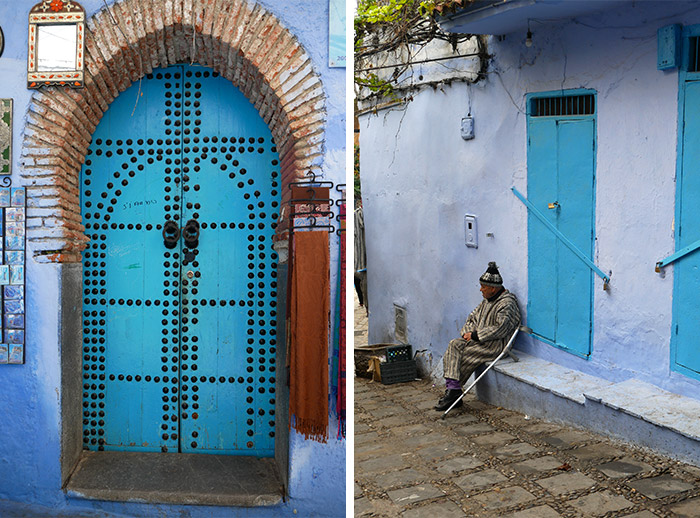 village chefchaouen maroc