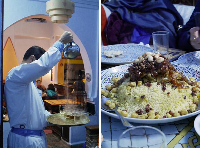 restaurant chefchaouen couscous