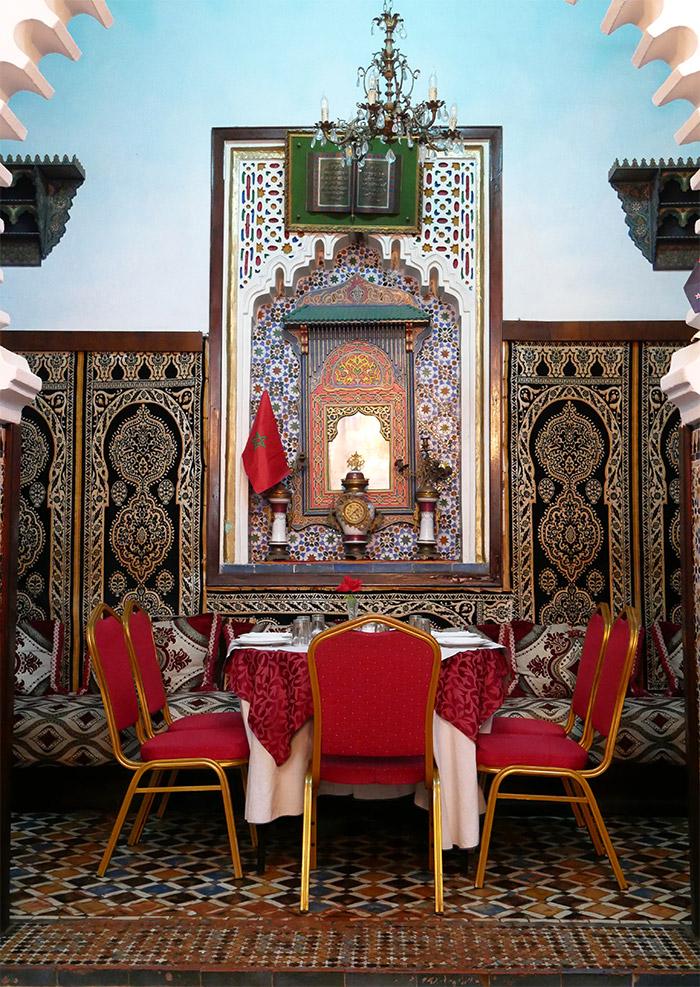 restaurant palace bouhlal tetouan