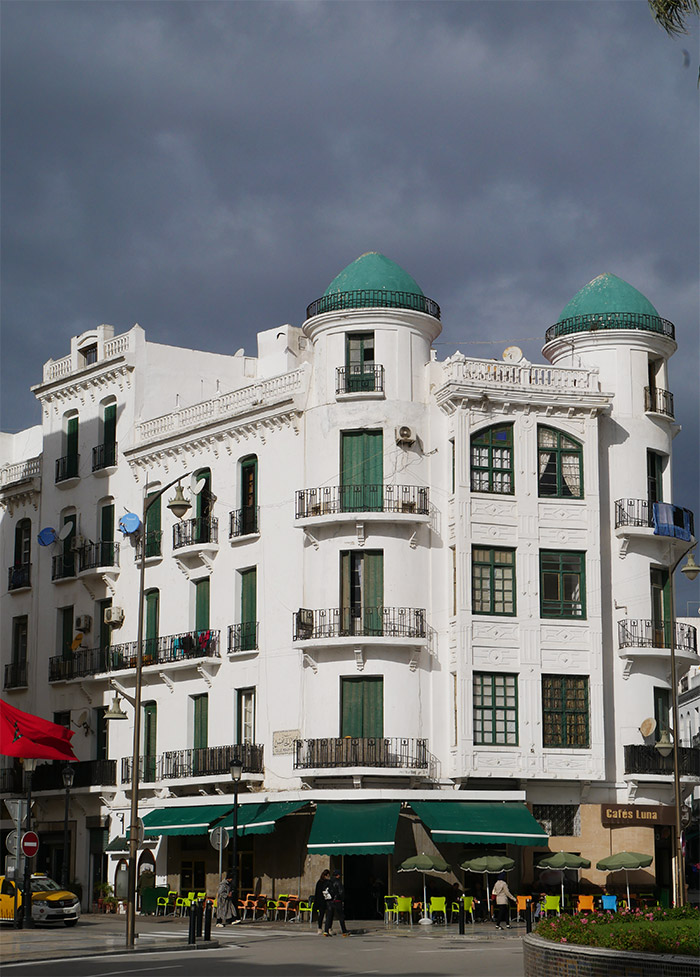 architecture tetouan coloniale