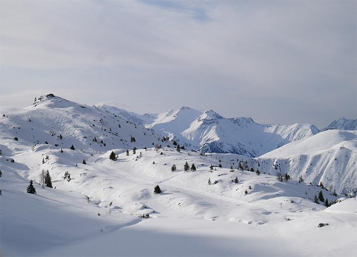 oisans massif ecrins isere neige
