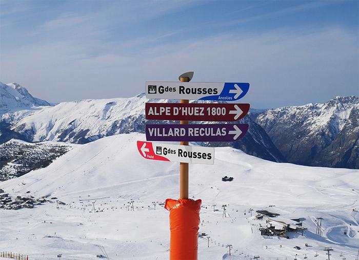pistes montagne neige