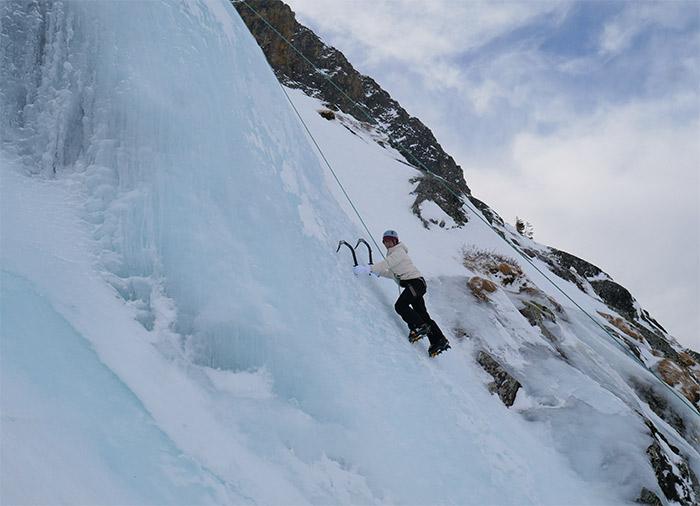 oisans escalade glace