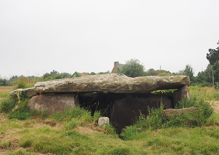 cotes d'armor megalithique dolmen tregastel