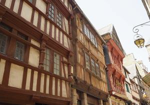 maisons pans de bois lannion bretagne