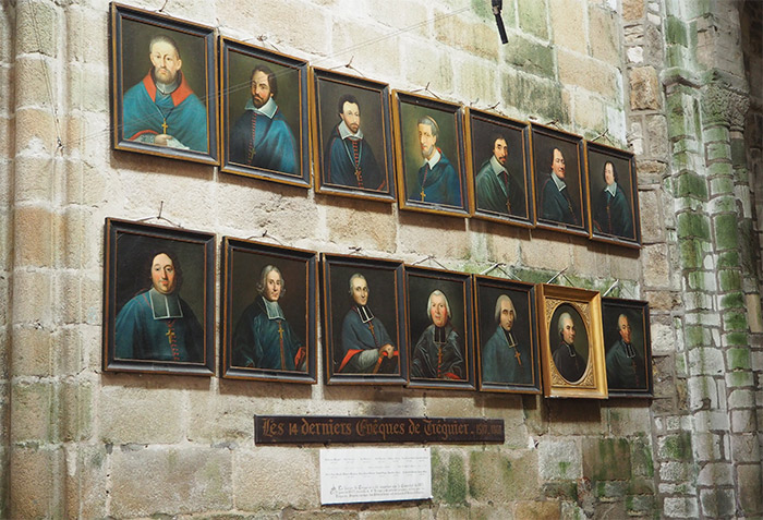 portraits cathedrale saint yves tregor treguier