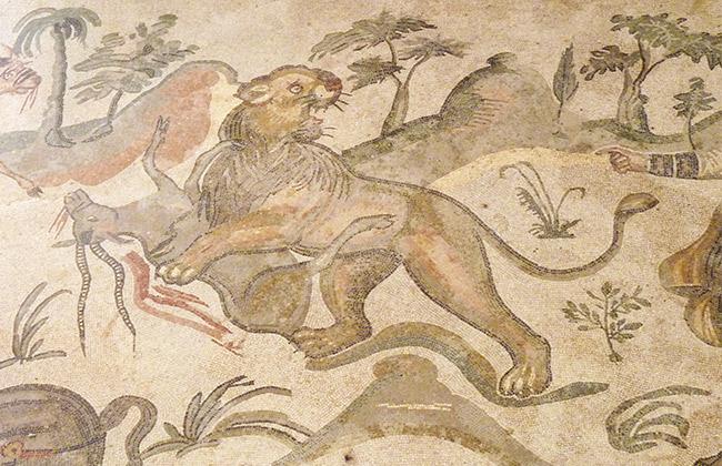 villa romaine casale sicile mosaiques