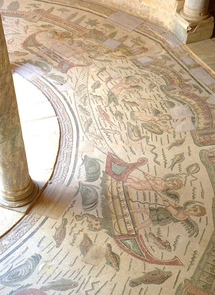 villa romaine casale sicile mosaique