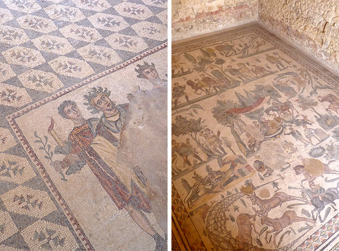 villa romaine casale sicile