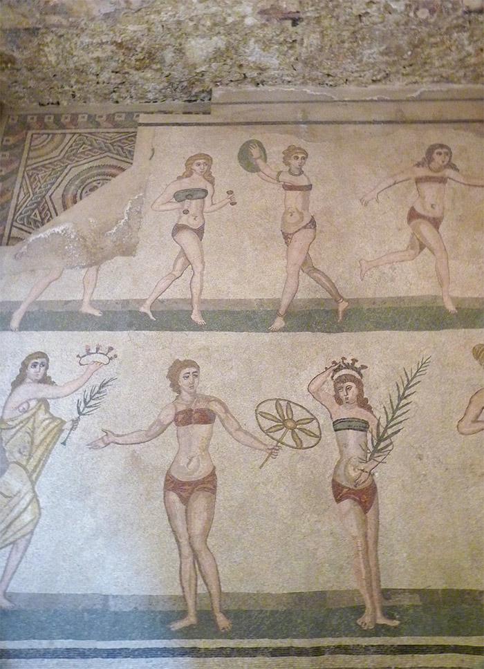 mosaiques villa romaine di casale sicile