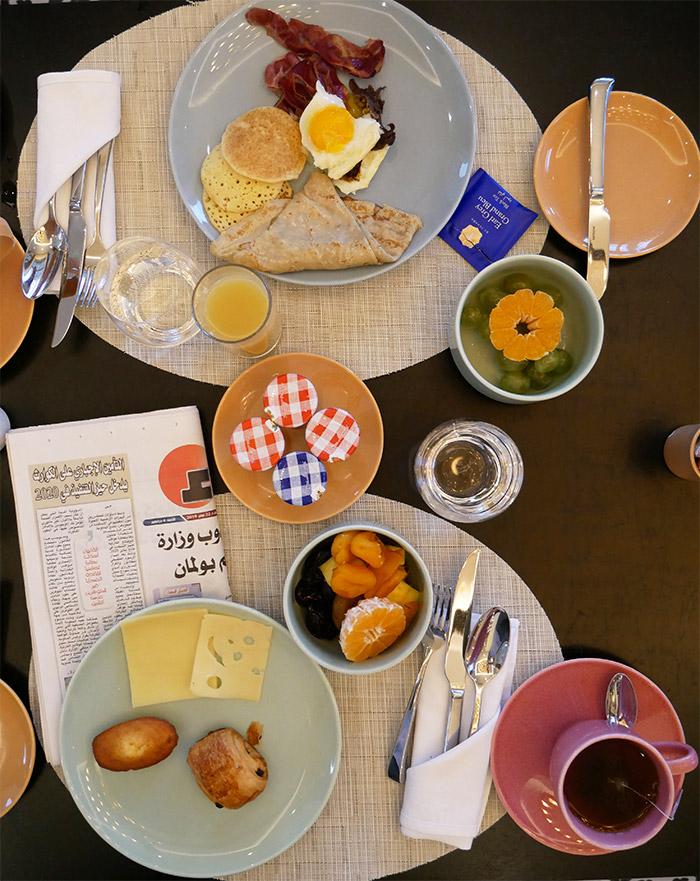 hotel hilton tanger petit dejeuner