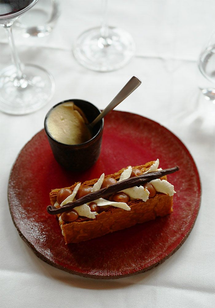 millefeuille la rotisserie dessert
