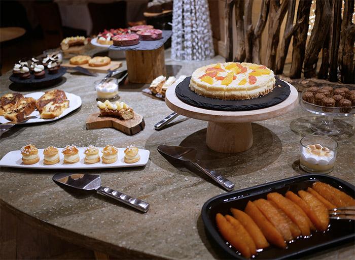 rotissoire buffet desserts barmes ours