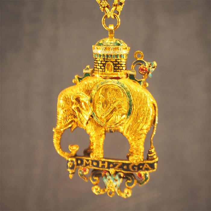 chateau rosenborg danemark copenhague elephant