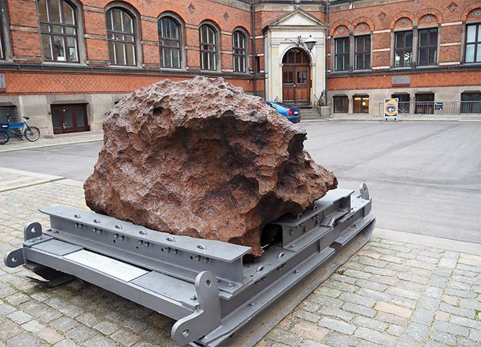 musee geologie copenhague meteorite