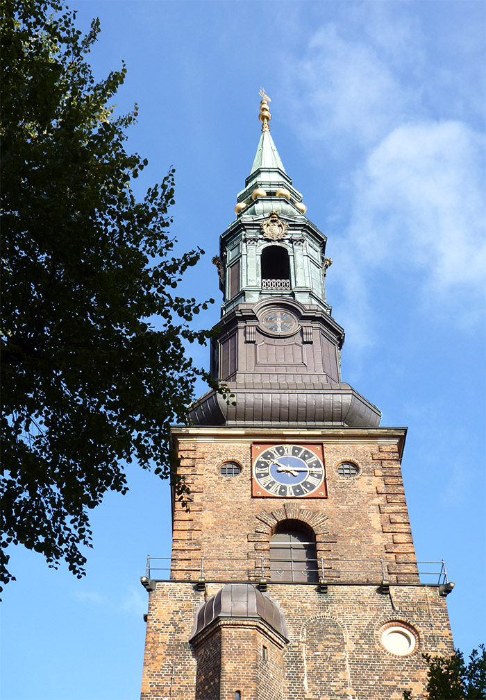 eglise Sankt Petri Kirke Copenhague Danemark