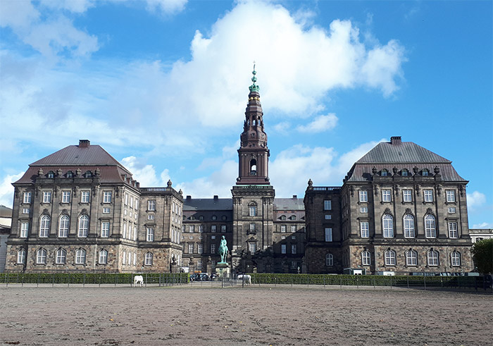 chateau christianborg copenhague danemark