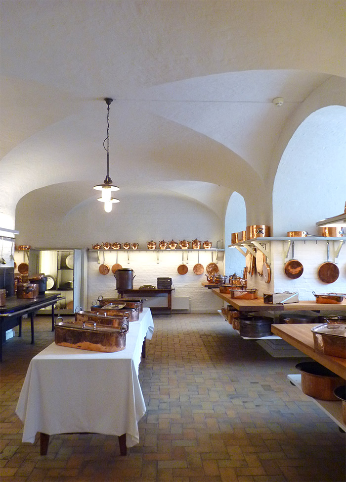 chateau christianborg cuisines royales