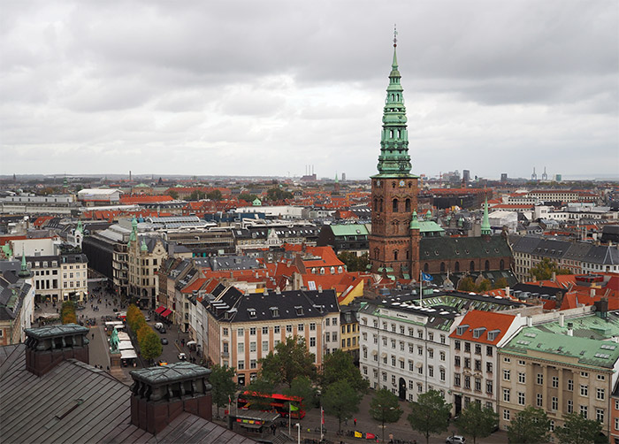 copenhague eglise vue ville