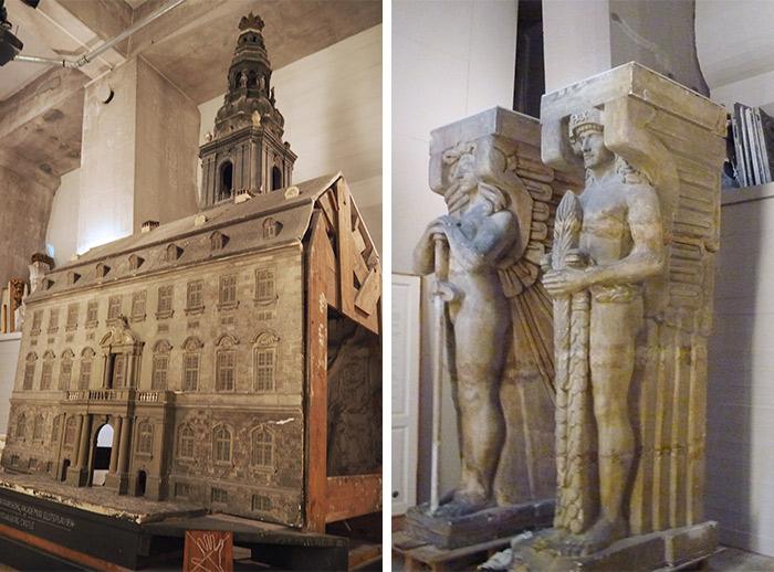 copenhague statues tour chateau rosenborg