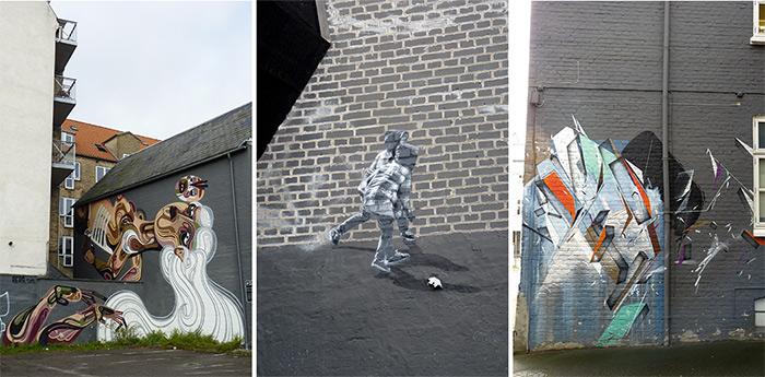 danemark aalborg streetart